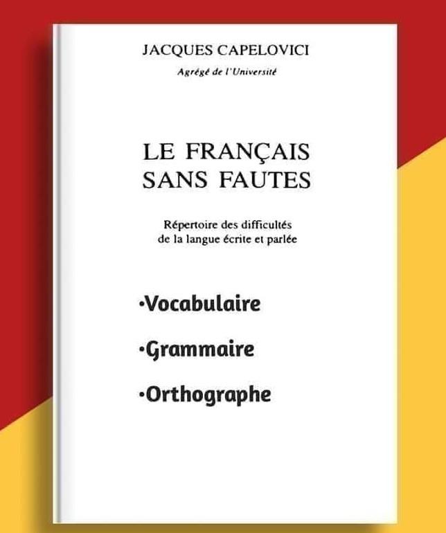 Le Français sans fautes en PDF