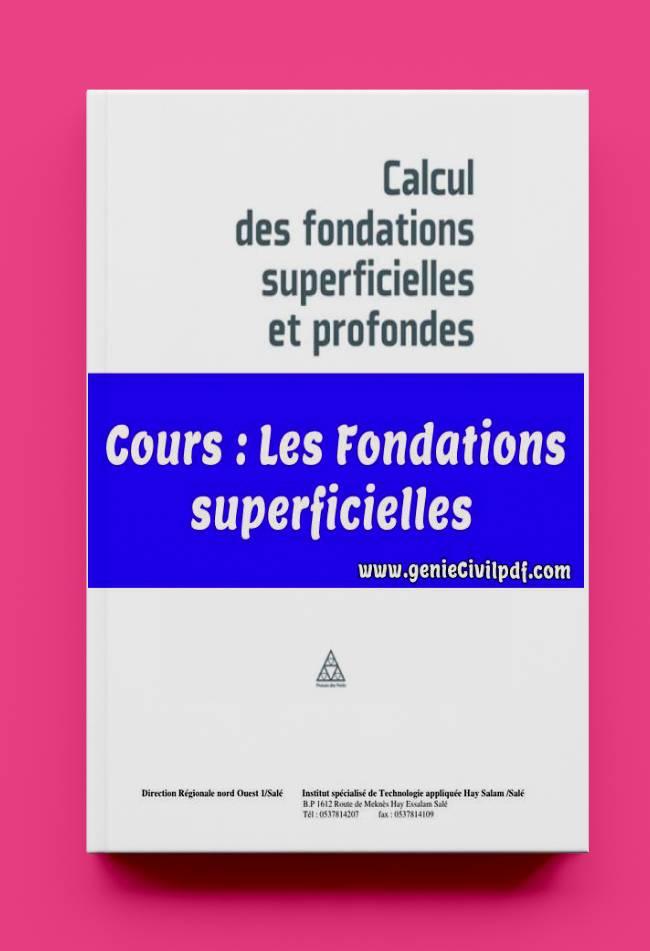 Les Fondations superficielles