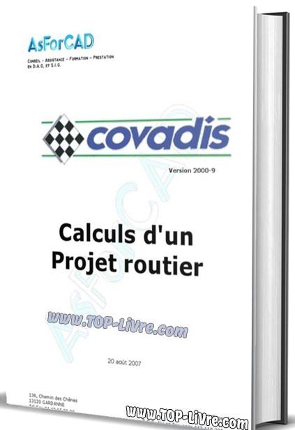 Formation covadis sur projets routiers