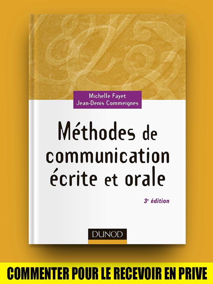Méthode de Communication écrite et Orale