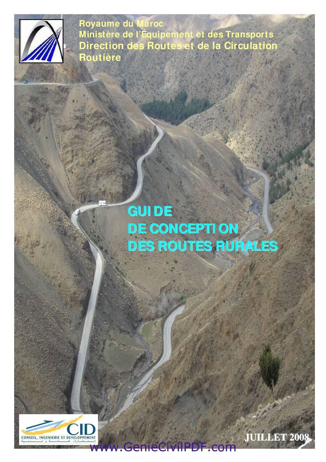 Guide de Conception des Routes Rurales
