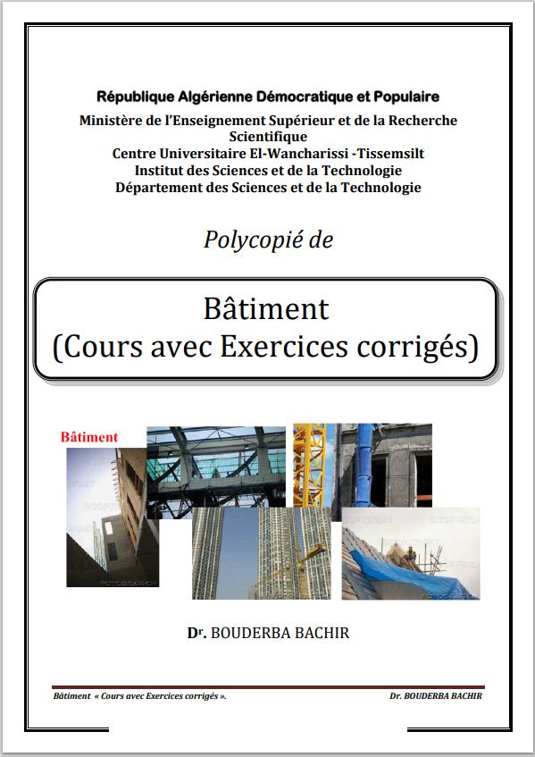 Polycopié de Bâtiment (CoursavecExercicescorrigés)